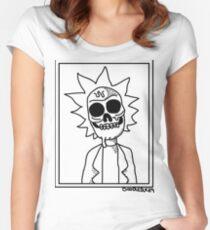 Rick und Morty - Zombie Rick Tailliertes Rundhals-Shirt