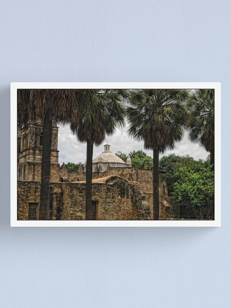Alternate view of Mission Concepcion Canvas Print