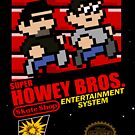 Super Howey Bros. (sticker) by gorillamask