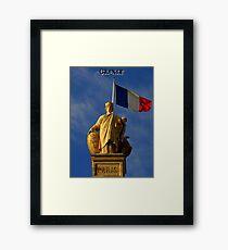 Paris Calendar Cover Framed Print