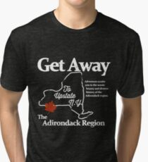 Get Away To Upstate New York Tri-blend T-Shirt
