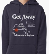 Get Away To Upstate New York Pullover Hoodie