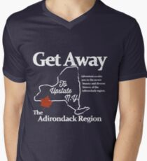 Get Away To Upstate New York Men's V-Neck T-Shirt