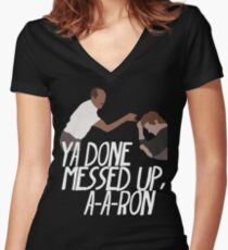 Key & Peele - Substitute Teacher Women's Fitted V-Neck T-Shirt