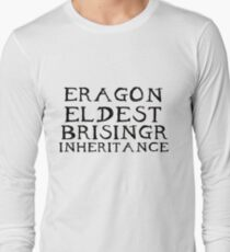 The Inheritance Cycle Typography Long Sleeve T-Shirt