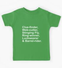 Bilbo Baggins Kids Clothes