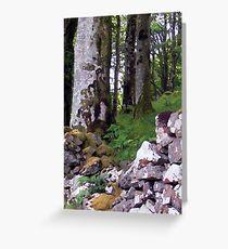 Torloisk Wall 2 Greeting Card