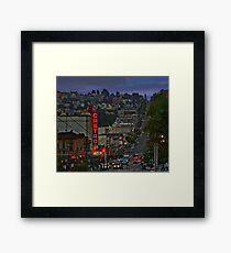 The Castro Framed Print