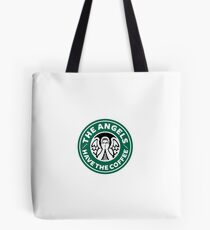 The Angels Have the Coffee Tote Bag