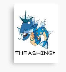 Thrashing! Nigeldos Canvas Print