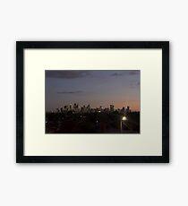 Melbourne, Australia  Framed Print