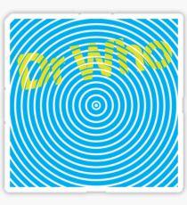 Dr Who Maze Sticker