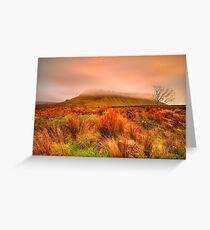 Benbulben Mountain  Greeting Card