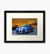 1996 Dodge Viper GTS II Framed Print