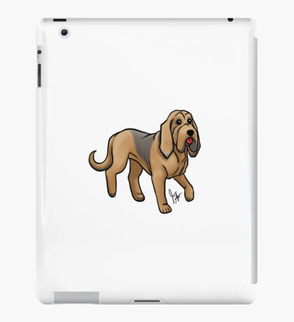 Bloodhound iPad Case/Skin