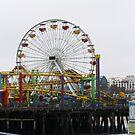 Santa Monica Pier by kristijacobsen