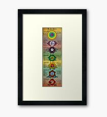 The Seven Chakras Framed Print