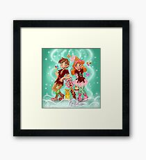 Candy Kids Framed Print