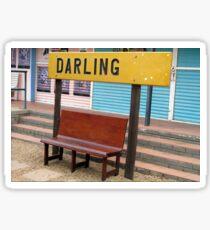 Darling...a world away! Sticker