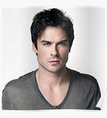 Ian Somerhalder Damon Salvatore The Vampire Diaries Poster