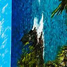 Black Beach on the Maui Road to Hana Abstract Impressionism by pjwuebker