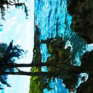 On the Road to Hana Maui Abstract Impressionism by pjwuebker