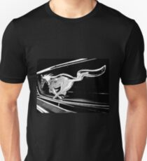 Black and White - '66 Mustang grill (2013) Unisex T-Shirt