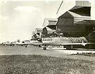 F-86D On Alert at O'Hare by John Schneider