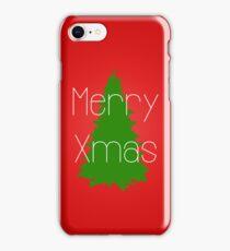 Merry Xmas 2  iPhone Case/Skin