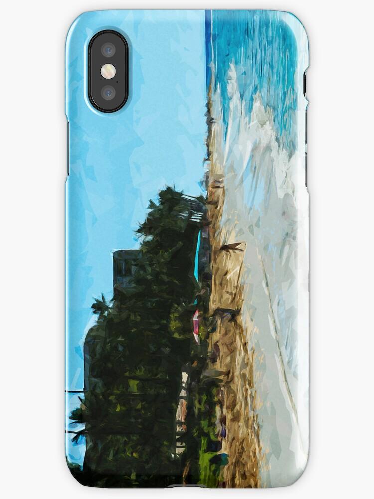Northwest Maui Beach Abstract Impressionism by pjwuebker