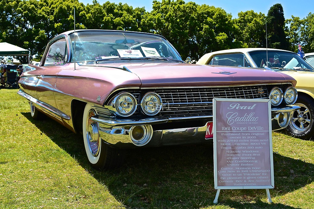 1961 Cadillac  by Barry  Cooke
