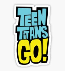 Teen Titans Go Sticker