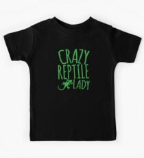 CRAZY REPTILE LADY Kids Clothes