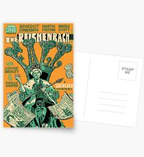 Vintage Poster - The Reichenbach Fall Postcards