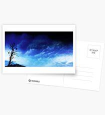 One Tree Storm Postcards