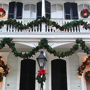 New Orleans French Quarter Christmas by rammgm
