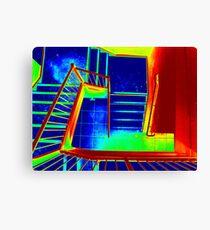 Stair Canvas Print
