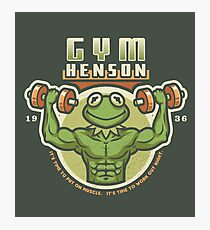 Gym Henson Photographic Print