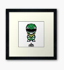 Green Power Ranger Framed Print