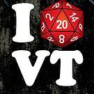 I D20 Vermont by Tee NERD