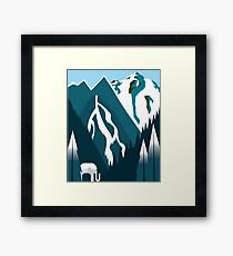 White Elephant Gift Framed Print