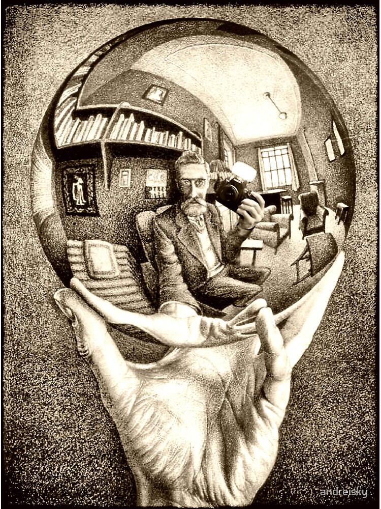 Escher's selfie by andreisky