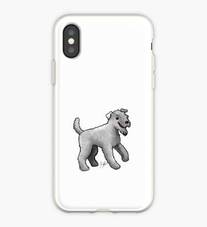 Carrie Blue Terrier iPhone Case