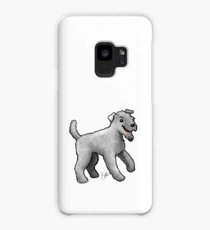 Carrie Blue Terrier Case/Skin for Samsung Galaxy