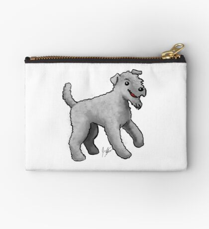 Carrie Blue Terrier Studio Pouch