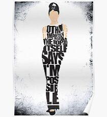 Audrey Hepburn - The Breakfast at Tiffany's Poster