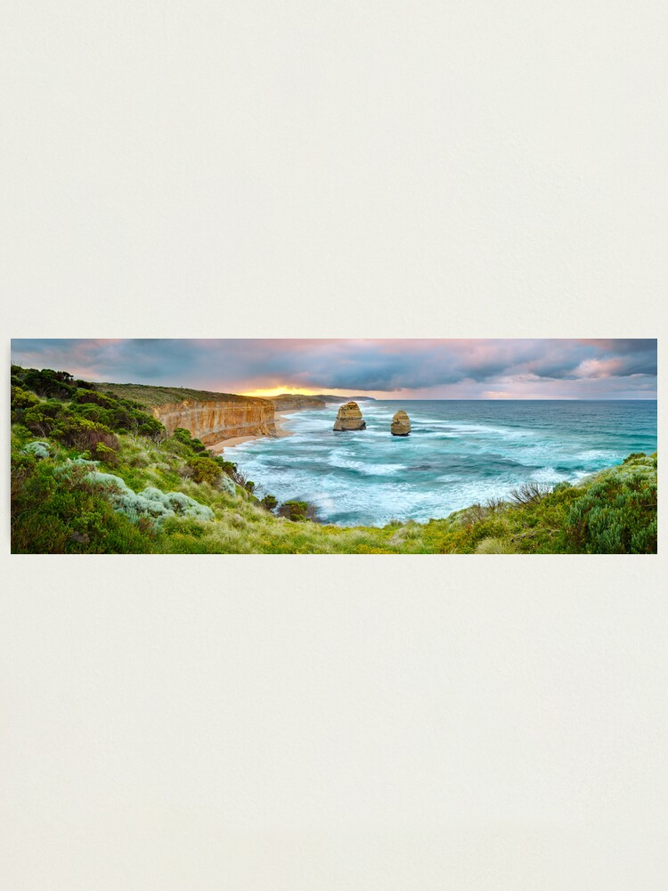 Alternate view of Gibsons Beach, Twelve Apostles, Great Ocean Road, Victoria, Australia Photographic Print