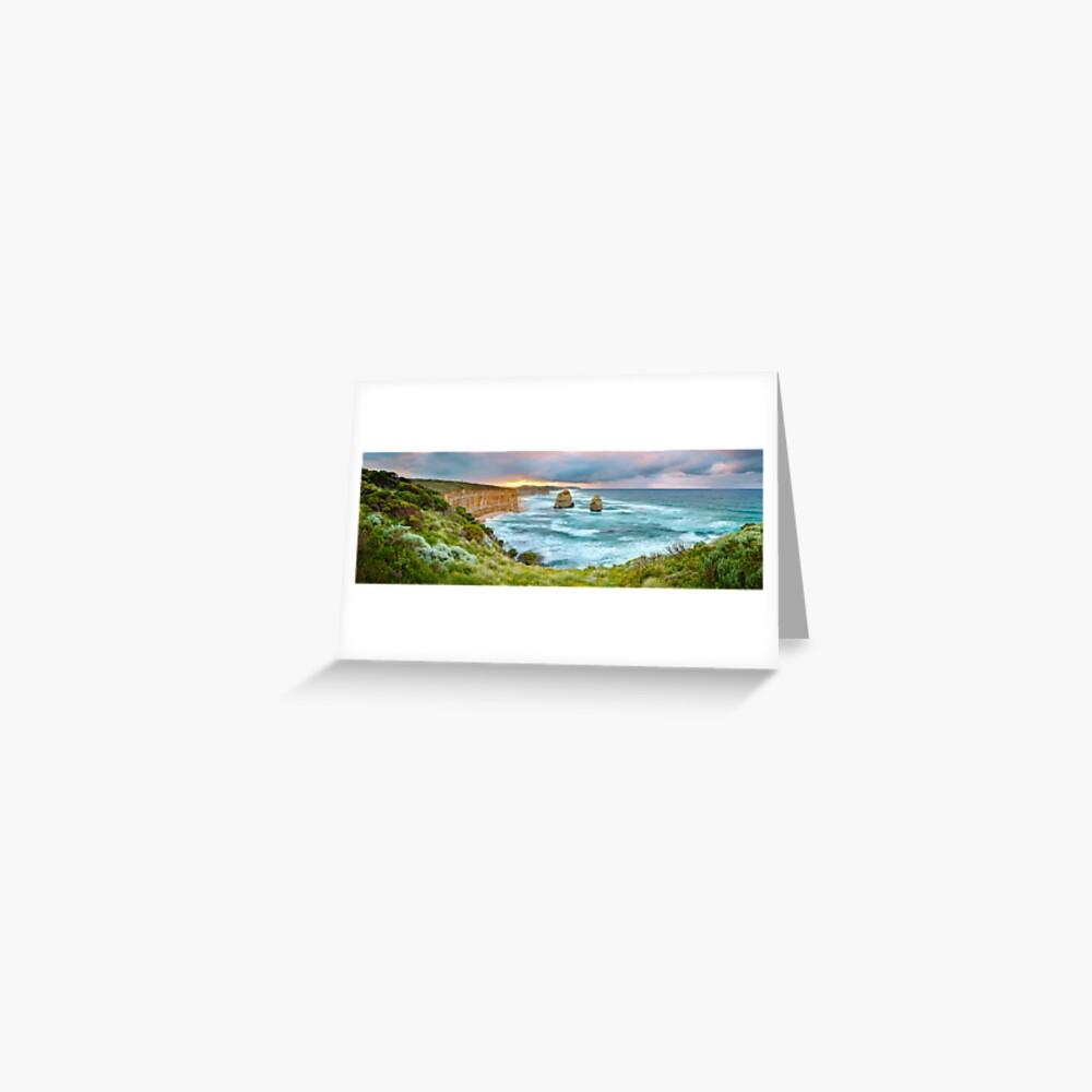 Gibsons Beach, Twelve Apostles, Great Ocean Road, Victoria, Australia Greeting Card