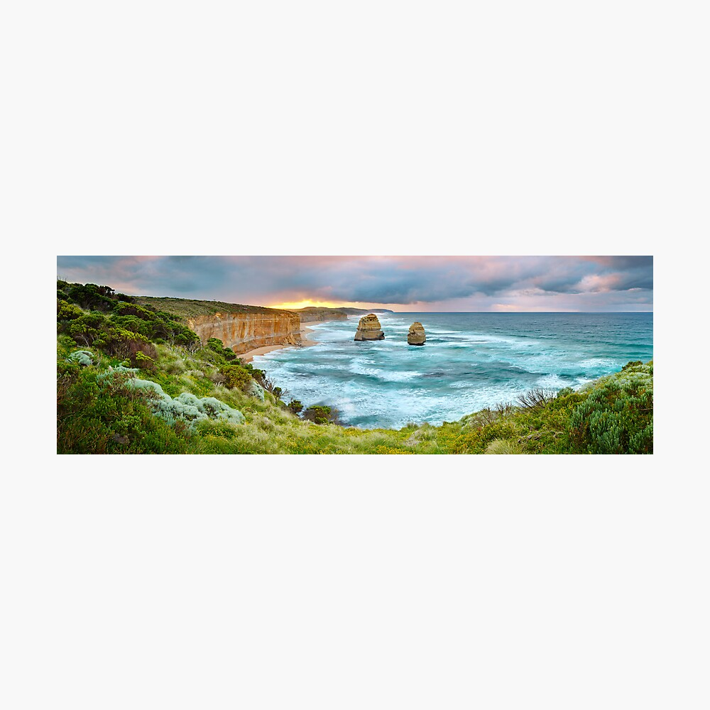 Gibsons Beach, Twelve Apostles, Great Ocean Road, Victoria, Australia Photographic Print