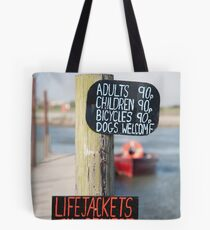 Walberswick ferry Tote Bag